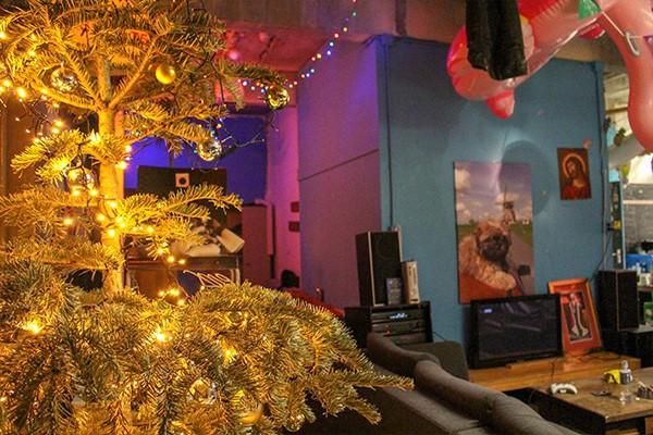 kerstboom studentenhuis utrecht