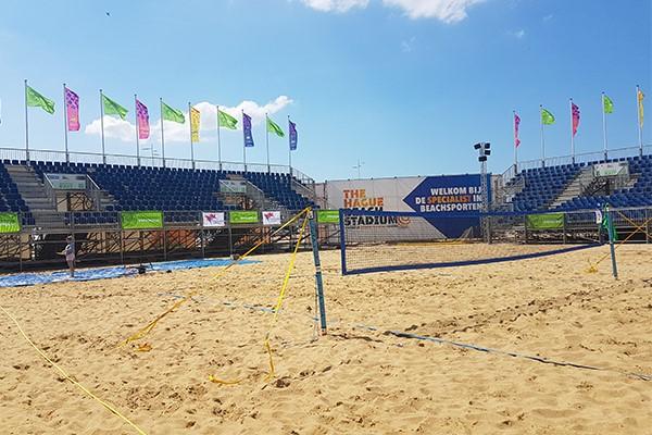 beach volleybal veld den haag