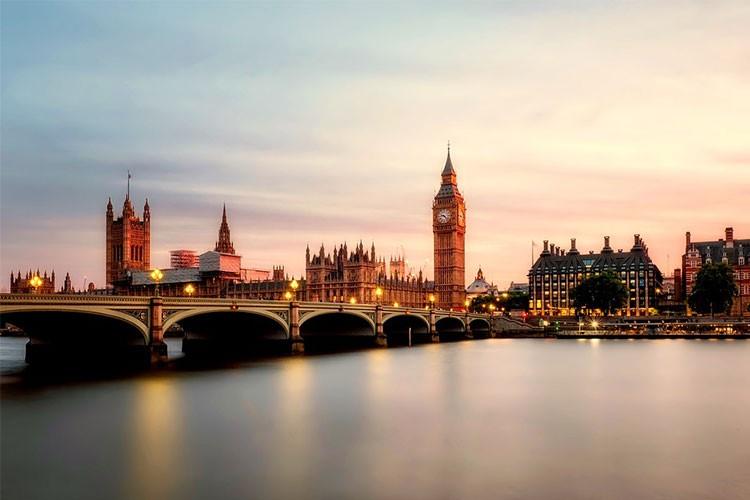 Londen met uitzicht op de Londen Bridge
