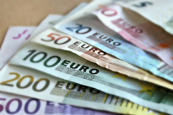 diverse euro biljetten