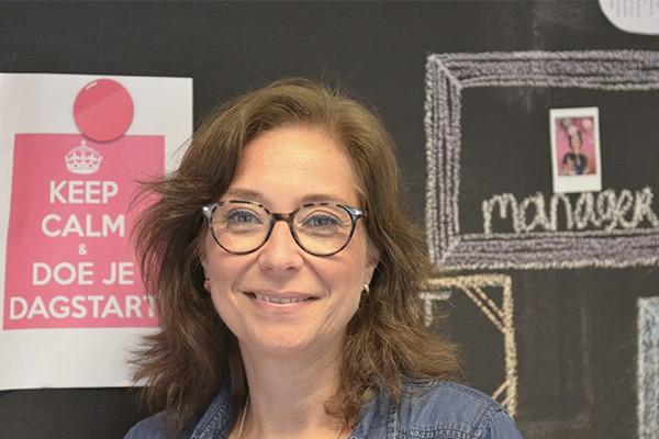 Melanie Stemerdink, Manager Customer Services bij InShared