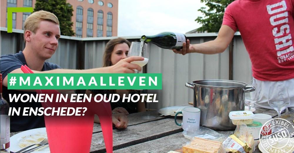 Wonen in een oud hotel in Enschede?